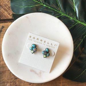 Sorrelli Blue Cluster Earrings